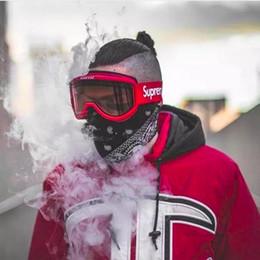 Óculos de snowboard on-line-FW15 Sup Óculos De EsquiEsportes Snowboard Goggles lente Dupla Anti-nevoeiro Óculos De Esqui Motocross Máscaras Óculos