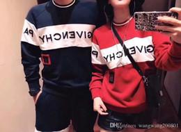 band hoodies per uomo Sconti Nuova Luxury Design 18fw Europa Parigi felpa ricamato Francia Moda nero felpa con cappuccio felpa grandi donne della fascia degli uomini bianchi