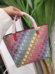 Argentina Nuevo estilo 2019 Kids Girls Multicolor Stars tote mujer mini bolso Bolso regalo Suministro