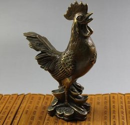 carving chicken Coupons - chicken king Songfu Zhaocai Rooster Chicken Chop chicken rotten peach incense Encyclopedia of antiques and Collectibles