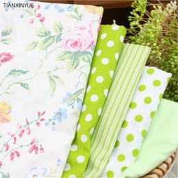 Argentina 100% tela de algodón para el remiendo de costura Penoy Textiles Tela 40 x 50 cm almohada 5 PC Punto de cama Bolsas tela para el cuerpo Suministro