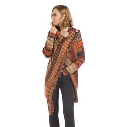 Suéteres de mujer diseños de cuello online-2019 nuevo estilo suéter de mujer otoño invierno damas cardigan borla suéteres chaqueta corta ropa de mujer streetwear ropa de diseño casual