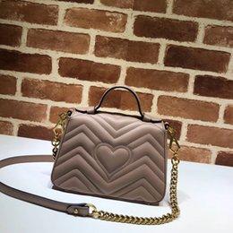 2019 bolsas de fábrica FÁBRICA de preços Marmont bolsa de couro original bolsa de ombro bolsa de crossbody de luxo mulheres bolsa de viagem MINI bolsa marmont bolsas de fábrica barato