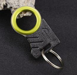 En plein air Un seul doigt Sharp Ficelle Couteau Cutter Corde À Couper Couteau Crochet EDC Kit Gadget De Voiture De Secours De Sauvetage Camping Survie Outil ? partir de fabricateur
