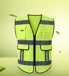 Canada Défilé extérieur tactique Utility Pro Wear Uniforme professionnel jaune Haute visibilité Maille Sécurité ZIPPER vêtements Gilet Offre