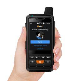 Teléfonos android tv 3g teléfonos online-UNIWA Alpes F50 2.8 pulgadas Teléfono Celular 2G / 3G / 4G Zello Walkie Talkie Android 6.0 Smartphone MTK6735 Quad Core 1 GB + 8 GB ROM móvil