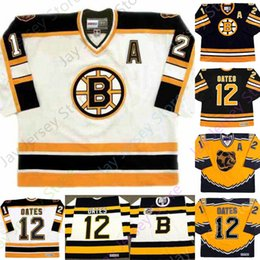 boston bruins retroceso jersey Rebajas ADAM OATES personalizados Boston Bruins 1992 CCM Throwback Hockey Jersey