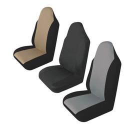2019 fundas de asiento de coche duraderas 1 unid Universal Car Seat Cover Durable Auto Front Rear Seat Cushion Protector Supply Support Fit Apto para todos los coches SUV Nueva venta caliente rebajas fundas de asiento de coche duraderas