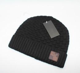 2019 Designer Skullies Caps Berretti da uomo donna New Winter Luxury Berretti a maglia da skateboard con cappelli a teschio con etichetta da