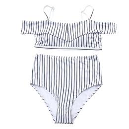 Combinaison blanche en Ligne-Bikinis Maillot De Bain Maillot De Bain Femme Fille