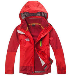 Горячий новый бренд NF детский комбинезон непромокаемый теплый зимний комбинезон толстый флис три в одном съемная куртка с капюшоном XS-XXL от