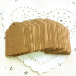 impresión de tarjetas de saludos Rebajas 100 unids / lote Papel Kraft Boda Etiqueta en blanco Nota Cadena Etiqueta Encaje Scallop Head Etiqueta Equipaje DIY Precio en blanco Etiqueta de regalo