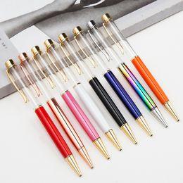 Deutschland DHL Blank Bling Bling 2-in-1 Schlank Kristall Diamant Kugelschreiber Glitter Stylus Touch Pen DIY Stifte 13 Farbe Versorgung