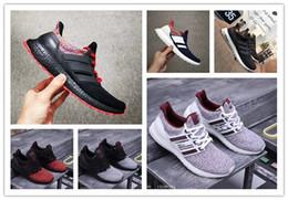 Argentina Ultra Boost 4.0 Casual Shoes Show Your Stripes Concientización sobre el cáncer de mama CNY Negro Multi Color Hombres Mujeres Zapatillas Real Boost Tamaño 36-45 cheap womens stripe Suministro