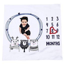 2019 fotos de toalhas Cobertor Do Bebê Infantil Foto Fotografia Prop Backdrop Menino Meninas Envoltório Swaddle Recém-nascidos Toalhas De Banho Macias PNLO desconto fotos de toalhas