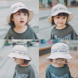 e8edfd9f5f9 2019 New Arrival Children s Hat Baby Hat Bucket Hat Children Autumn Hats  KoreanVersion Cartoon 3 pcs