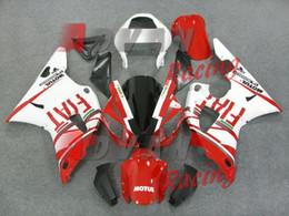 Argentina Nuevos kits de carenados aptos para Yamaha YZF 1000 R1 00 01 YZF-R1 2000 2001 Plástico ABS Juego de carenado de la motocicleta Conjunto rojo agradable Suministro