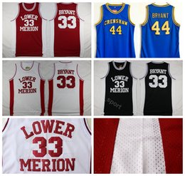 d3f4c1e99 black kobe jersey 2019 - Lower Merion College Kobe Bryant Jersey 33  Hightower Crenshaw High School