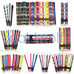 wholesalers for clothing Coupons - Cellphone lanyard Straps Clothing Sports brand for Keys Chain ID cards Holder Detachable Buckle VS Love PINK Lanyards