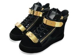 Новые итальянские дизайнерские мужские кроссовки женские повседневные туфли из натуральной кожи на шнуровке высокие топы коричневые двойные декоративные молнии декоративные supplier italian sneakers men от Поставщики итальянские тапочки мужчины