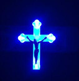 lampengott Rabatt Christian jesus figur frieden pate kruzifix kreuz dekoration high-end geschenk lamm gottes 2 farbverlauf von led lampe