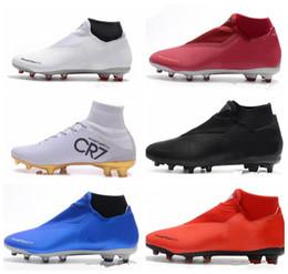 Argentina NIKE 2019 Phantom Vision Elite DF FG Calzado de fútbol para hombre Crampones de fútbol zapatos de entrenamiento Botas zapatos botas de futbol scarpe da calcio cheap vision pvc Suministro