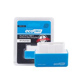 2019 chips de rendimiento del coche OBD2 EcoOBD2 PlugDriver para Diesel Benzine Car OBDII Interface Mejor ECO OBD2 Full Chip Tuning Performance Box Accesorios para automóvil chips de rendimiento del coche baratos