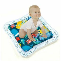 2019 jogos de tabuleiro de bebê 2019 Almofada criativa dupla utilização bebê brinquedo inflável afagou Pad Bebê da água brinquedo Pat Almofada de próstata Água