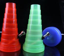 sest Yeni collapsibl bong SEYAHAT BORU SU BORULARI PLASTİK BONG BİTKİSEL BİTKİSEL BORU HOOKAH SHISHA SİGARA BORU İÇME AKSESUARLARI supplier plastic bongs nereden plastik bonglar tedarikçiler