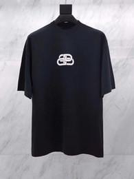 19SS BLCG Speedhunters T-shirt stampata Moda Uomo Donna Hip-Hop Manica corta Programma alimentare mondiale di alta qualità PARIGI TAGLIA USA Tee SPEDIZIONE GRATUITA da usa t-shirt donna fornitori