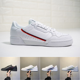 reputable site 3b01a 7e860 Hommes Femmes Rascal Adidas Continental 80 Chaussures de sport Calabasas  Powerphase Gris Kanye West Aero bleu Core noir OG blanc Trainer Sports  Sneakers ...