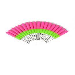 2020 rastas tejen pelo 1pcs Enganche agujas de plástico punto y ganchillo agujas para Jumbo torcedura trenzan Y tejer del pelo Dreadlocks Herramientas rebajas rastas tejen pelo