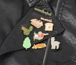 2019 куртка с отворотом 2019 Новая мода 9 Тип Классические значки мультфильмов Стиль Эмаль значок Значок кнопки Брошь Любители аниме Рубашка Джинсовая куртка отворотом дешево куртка с отворотом