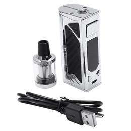 Canada 100W Cigarette Starter Kit 2200mAh Batterie Intégrée Réservoir 3.5ml 0.3ohm Atomiseur 510 Fil Top Vape D'admission D'air cheap electronic cigarette atomizer 3.5ml Offre