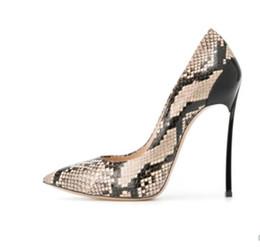 Dimensioni 34 pompe blu online-2019 Moda donna di design di lusso scarpe blu fondo tacchi alti Nude nero rosso in pelle scarpe a punta scarpe Dress scarpe taglia 34-41