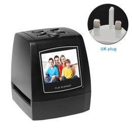 Scanner per schede usb online-Film Scanner Lanterna Slide JPEG Supporto per scheda fotografica Supporto LCD ad alta risoluzione Facile da usare Professional Veloce