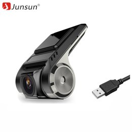 Видеокамера с картой памяти онлайн-Junsun S500 ADAS мини автомобильный видеорегистратор камеры Full HD 1080P LDWS авто цифровой видеорегистратор тире Cam для Android мультимедийный плеер