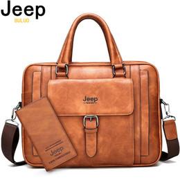 diviso grande sacchetto Sconti Buluo grande formato della cartella degli uomini Bags For 15,6 pollici Laptop Split in pelle borsa di affari Maschio spalla ufficio borsa da viaggio