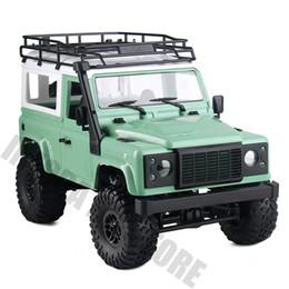 2019 control remoto f1 1/12 Escala MN-90K MN-91K 2.4G 4WD RC Coche Control remoto Camión Juguetes Kit sin ensamblar RC Rock Crawler D90 Defender Pickup Car