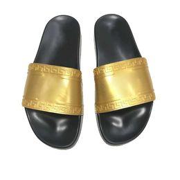 beste sandale marken Rabatt 2019 Mode Klassisch Europa Marke Mens Casual Air Strand Slide Sandalen Medusa Scuffs Hausschuhe Slip-on Sandalen Wandern Wandern BESTE QUALITÄT