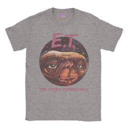 Y camisa online-E. T Camiseta Clásica Película ET Retro Regalo Vintage Hombre Damas Unisex camiseta camiseta denim ropa camiseta t cattt rompevientos Pug