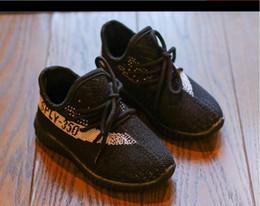 2019 bebé libre Nuevos niños Zapatos de diseñador para correr Zapatillas Bebé Niño Kanye West Run Zapatos Infantes Niños Chicos Niñas Chaussures Pour Enfant Envío gratis rebajas bebé libre