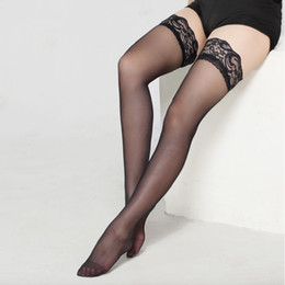 3160edac451d1 Thigh High Stocking Women Summer Over knee Socks Sexy girl Female Hosiery  Nylon Lace Style Stay Up Stockings Plus Size