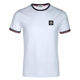 Erkek Yaz Moda T-shirt Küçük Desenler Baskılı Moda Saf Pamuk T-shirt Yaz Dairesel Yaka Nefes T-shirt supplier shirt collar patterns nereden gömlek yaka desenleri tedarikçiler