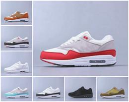 2020 zapatos de diseño 87 Aniversario 1 Piet Parra zapatillas de deporte de alta calidad lunar 1 DELUXE SANDÍA Chaussures aire reaccionan Elemento
