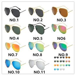 2019 rubinrote brille Hochwertige polarisierte linse pilot mode sonnenbrillen für männer und frauen markendesigner sport sonnenbrille 11 farben optional