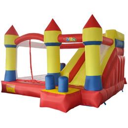 Прыгающие замки для онлайн-Двор домашнего использования надувной замок надувной замок прыжки замок отказов дом комбо слайд Moonwak батут игрушки с воздуходувкой