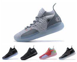 Nike Air Jordan Cheap Kd 11 Scarpe casual Uomo Donna Youth Rosso Paranoico Persiano Viola PE Fly Kevin Durant 11s XI 2019 Scarpe casual supplier kevin durant shoes for men da scarpe kevin durant per gli uomini fornitori