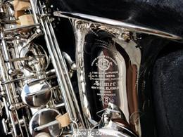 Brand Saxofón alto Mark VI Eb Nickel Silver Instrumento de viento de madera profesional Alto Sax Mark VI, boquilla Accesorios desde fabricantes