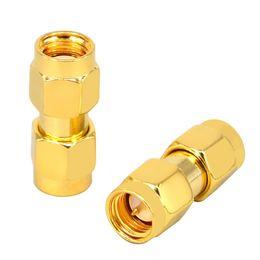 Conector macho rf on-line-RF Coaxial SMA Macho Para RP SMA Macho Feminino Pin Jumper Cable Connector para Áudio FPV Antenas de Rádio Vídeo Móvel
